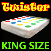Twister Fitted Bed sheets (King)