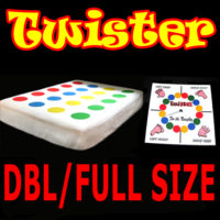 DOUBLE / FULL SIZE TWISTER BED SHEET