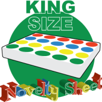 King Size Twister Bed Sheet