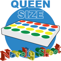 Queen Size Twister Bed Sheet